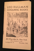 Rullman 1943 Books Catalog