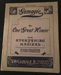 Gamage 1921 Gamagic Catalog