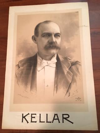 Kellar Sepia Portrait