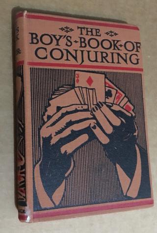 Boys Book Conj hardcover