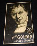 Horace Goldin original photo