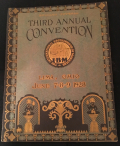 Third IBM Convention program 1928