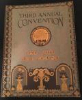 Third IBM Convention program 1928