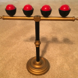 Thayer Billiard Ball Stand - Red