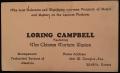 Loring Campbell biz card