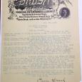Brush letter 1915
