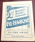 FuManchu program cover