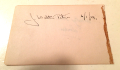 J Walter Petrie 1929 autograph